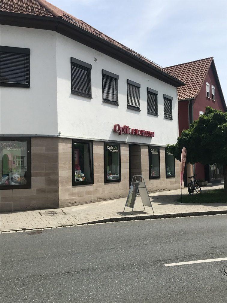 Ladenfront Optik Buchmann Herzogenaurach