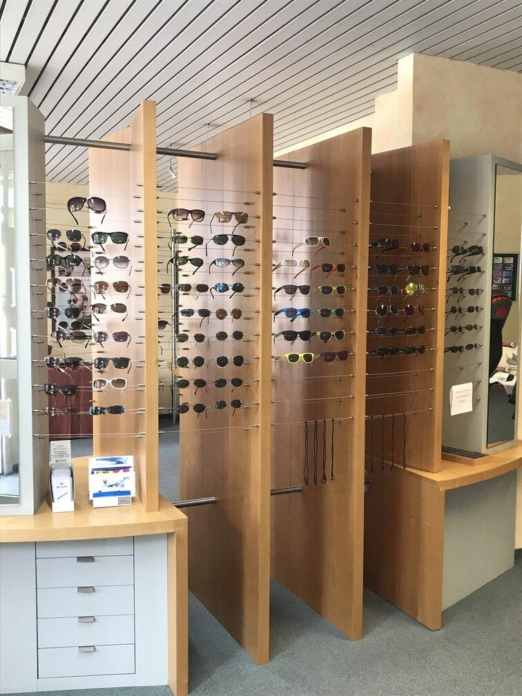 Sonnenbrillenauswahl Optik Buchmann Herzogenaurach